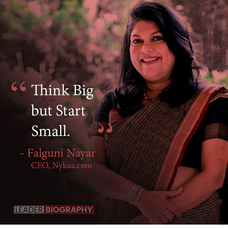 falguni nayar quote, falguni nayar success story