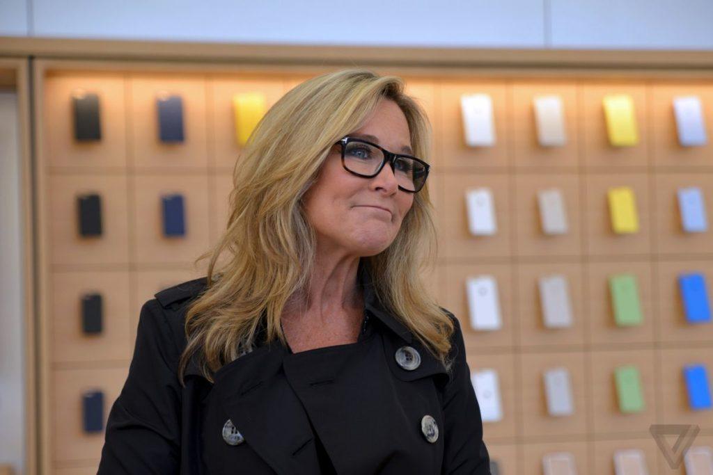Apple executive Angela